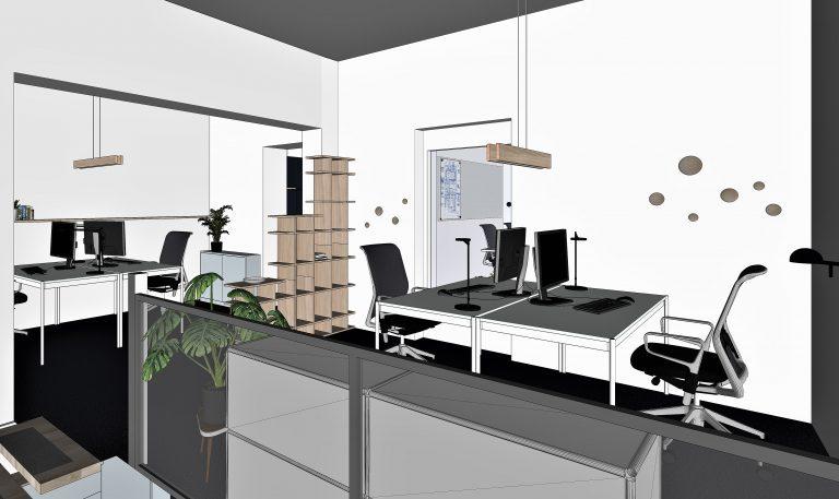 Bürokonzept Unternehmensstandort Methocon Projektberatung