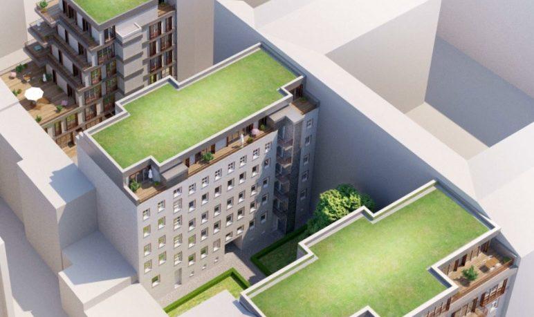 Dachgeschossaufbau und Neubau